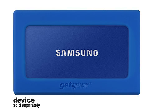 Silicone Bumper for Samsung Portable SSD T7 (blue)