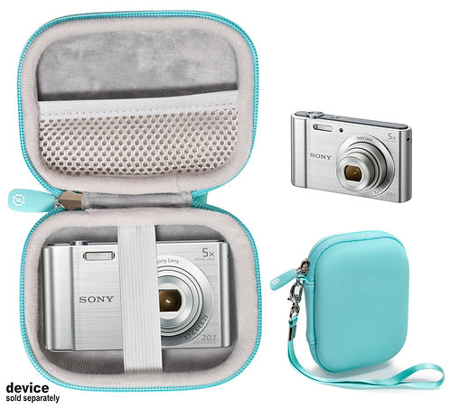 Protective case for Sony DSC-W800 Digital Camera (mint)
