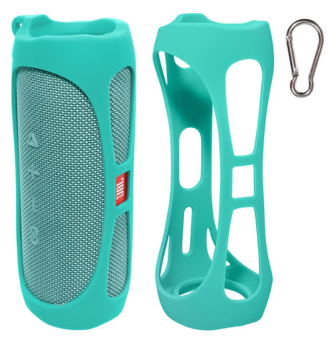 Silicone Bumper for JBL FLIP 5 Bluetooth Speaker (mint)