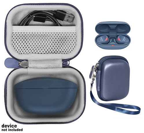Case for Sony WF-SP800N Truly Wireless Sports In-Ear Headphones (blue)