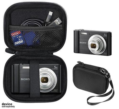Protective case for Sony DSC-W800 Digital Camera (black)