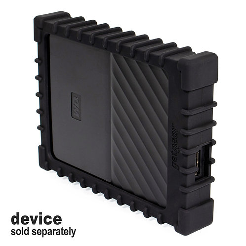 Silicone Bumper for WD My Passport External Hard Drive (black)