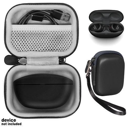 Case for Sony WF-SP800N Truly Wireless Sports In-Ear Headphones (black)