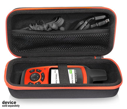 Protective Case for GPS: Garmin Inreach Explorer+ (black & orange)