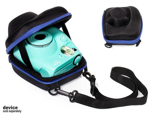 Protective Case for Fujifilm Instax Mini 7s Instant Film Camera (black & blue)