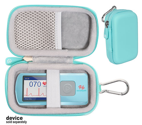 Protective Case for Heart Rate EKG Monitor (mint)