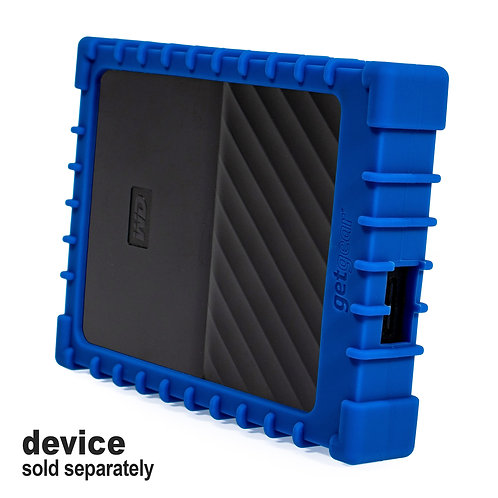 Silicone Bumper for WD My Passport External Hard Drive (blue)
