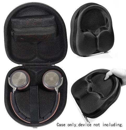 Black Wireless Headphone Case