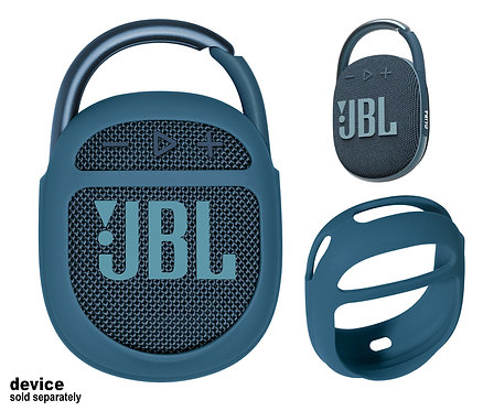 Silicone Bumper for JBL Clip 4 Bluetooth Speaker (blue)
