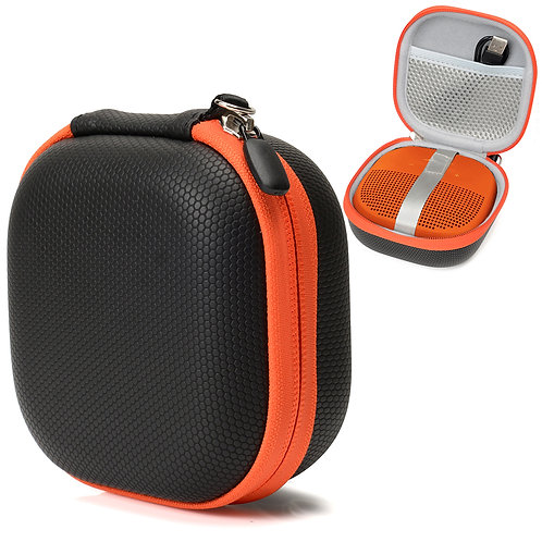 Bose Soundlink Micro (Black w/ Orange Zipper)
