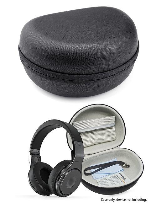 Saffiano Headphone Case (Black)