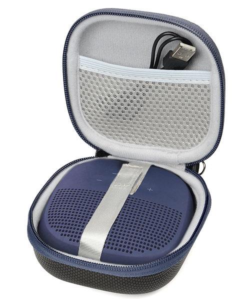 Bose Soundlink Micro (Black w/ Navy Zipper)