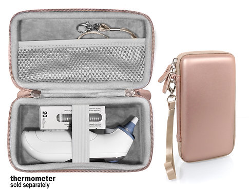 Braun Thermoscan 7 Thermometer Case (rose gold)