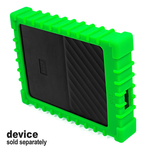 Silicone Bumper for WD My Passport External Hard Drive (lime)