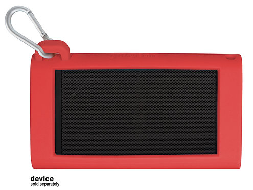 Silicone Bumper for OontZ Angle 3 (3rd Generation) speaker (red)