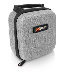 WG011819 Bose speaker case - gray tweed
