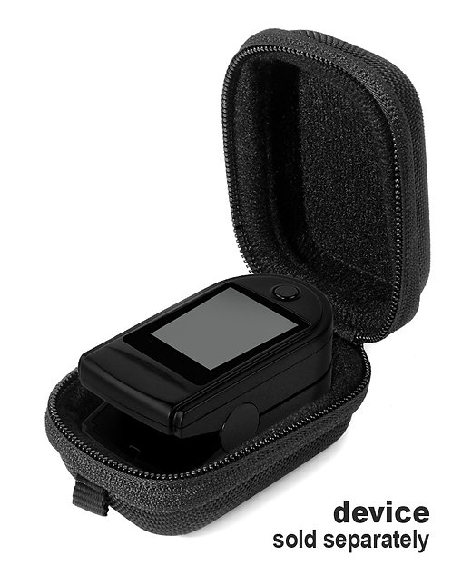 Fingertip Pulse Oximeter Case (black)