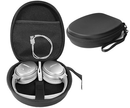 Black Stereo Headphone Case