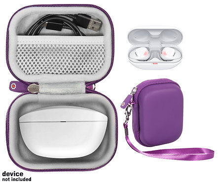 Case for Sony WF-SP800N Truly Wireless Sports In-Ear Headphones (purple)
