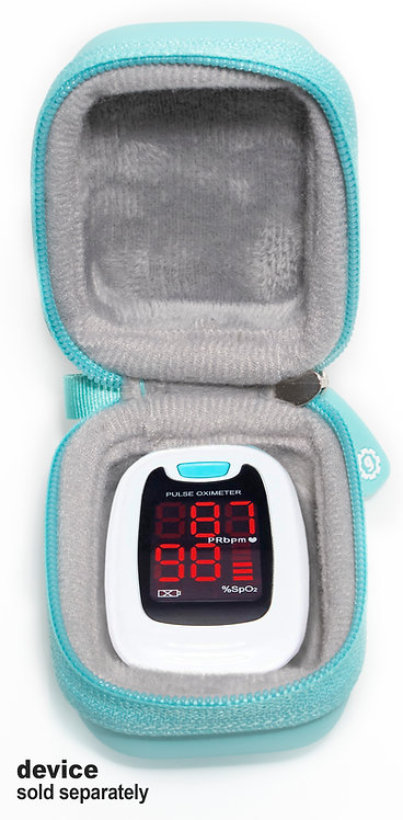 Fingertip Pulse Oximeter Case (mint)