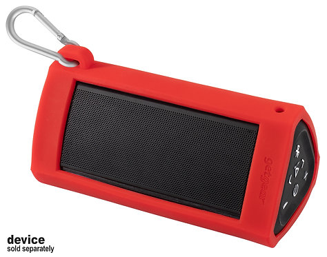 Silicone Bumper for Oontz Angle 3 Ultra Bluetooth Speaker (red)