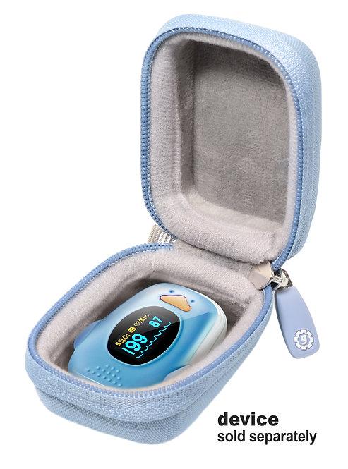 Fingertip Pulse Oximeter Case (light blue)