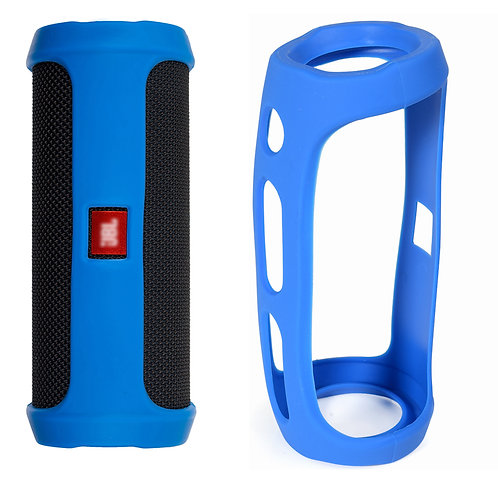 JBL Flip 4 Silicon Skin (Electric Blue)