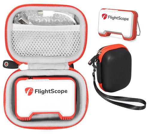 Protective Case for FlightScope Mevo - Golf Launch Monitor (black&orange)