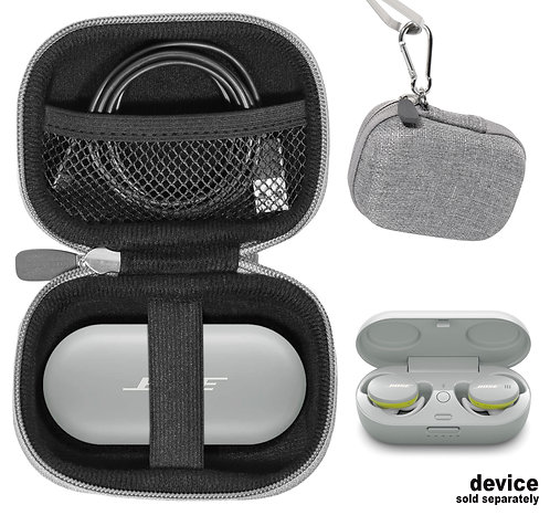Protective Case for Bose Sport Earbuds (gray tweed)