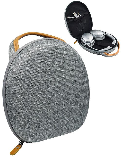 Tweed Gray Headphones Case for QC25, QC35