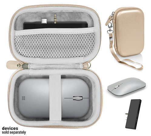 Combo Case for Microsoft Surface Mouse & Docking Station (gold)