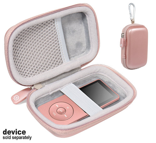 Protective Case for MP3/MP4 player (rose gold)