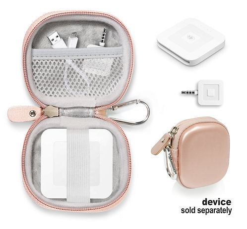 Protective Case for Square Chip Reader (rose gold)