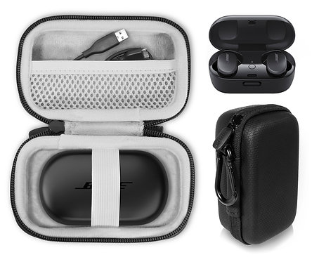 Protective Case for Bose QuietComfort Noise Canceling Earbuds (black)
