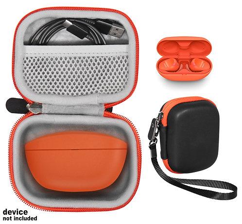 Case for Sony WF-SP800N Truly Wireless Sports In-Ear Headphones (black&orange))