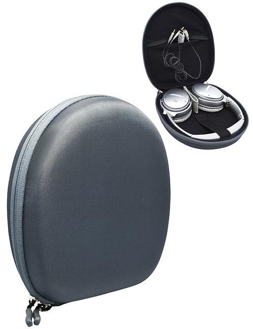 Stone Gray Headphone Case w/ Mesh Pouch