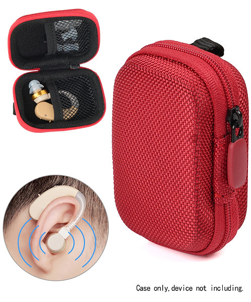 Hearing Aid Case (Red)