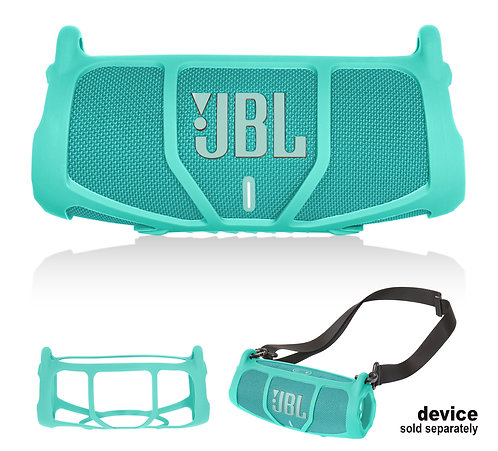 Silicone Bumper for JBL CHARGE 5 - Portable Bluetooth Speaker (mint)