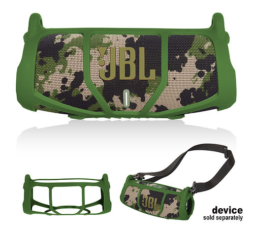 Silicone Bumper for JBL CHARGE 5 - Portable Bluetooth Speaker (green)