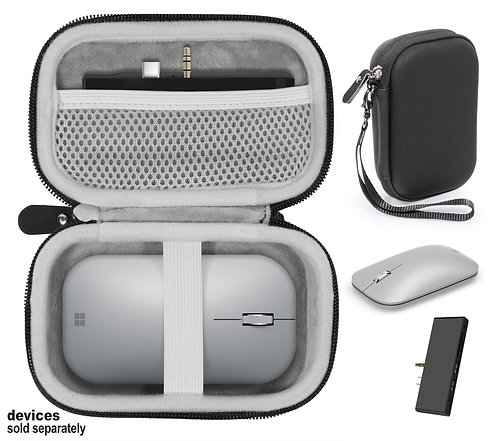 Combo Case for Microsoft Surface Mouse & Docking Station (black)