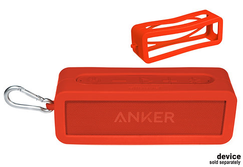 Silicone Bumper for Anker Soundcore 2 Bluetooth Speaker (red)