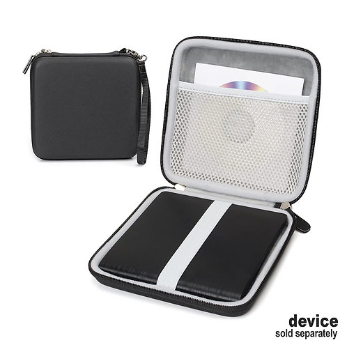 Protective Case for VersionTECH & Other External CD/DVD Drives (black)