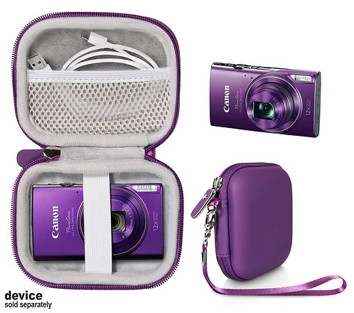 Protective Case for Canon PowerShot ELPH HS 360 (purple)