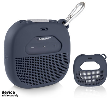 Silicone Sleeve for Bose SoundLink Micro Bluetooth, midnight blue