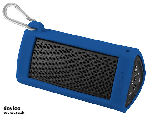 Silicone Bumper for Oontz Angle 3 Ultra Bluetooth Speaker (blue)