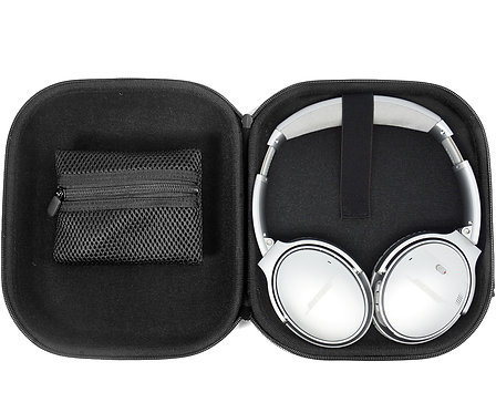 Black Headphone Case
