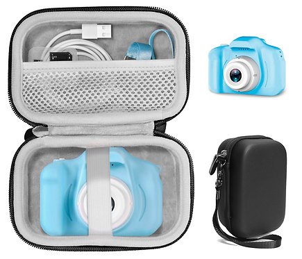 Protective Case for Kids' Camera: Nine Cube, Sekton, etc. (black)