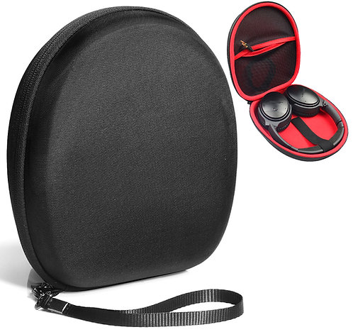 Headphone Case w/ Zipper Pocket