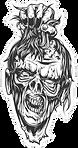 decapitated-zombie-head-sticker-15416207