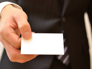 Personal Business Cards For Job Hunting